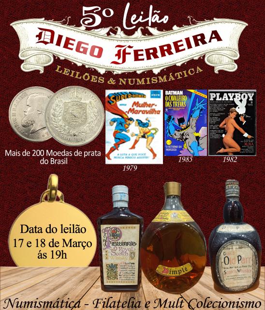 4º Leilão Diego Ferreira de Numismática e Colecionismo