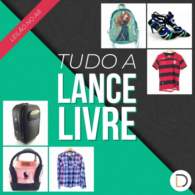 LEILÃO DONARE OBJETOS DE LUXO ROUPAS E ACESSÓRIOS / TUDO A LANCE LIVRE
