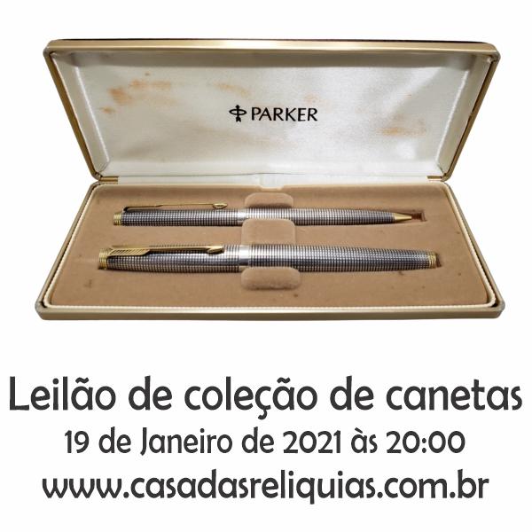 LEILÃO COLEÇÃO DE CANETAS