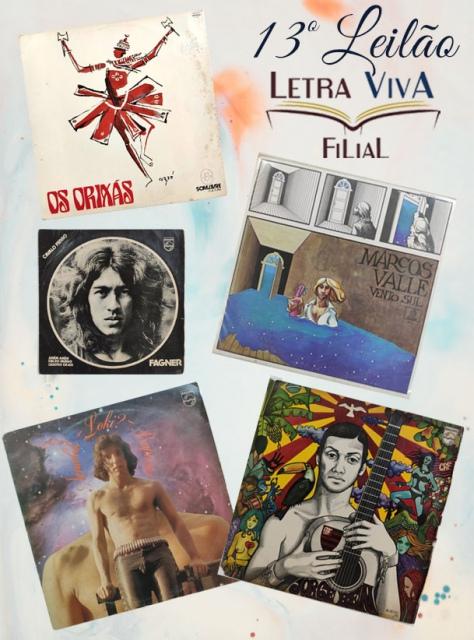 12º LEILÃO LETRA VIVA FILIAL - DISCOS 78 RPM - 100% LANCE LIVRE!