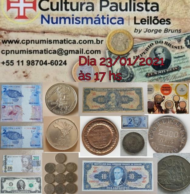 20º LEILÃO CULTURA PAULISTA NUMISMÁTICA