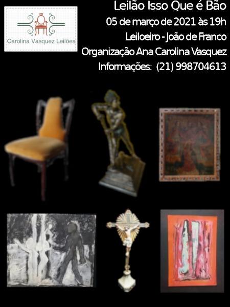 Leilão Isso Que É Bão-Arte Sacra, Colecionismo e Antiguidades