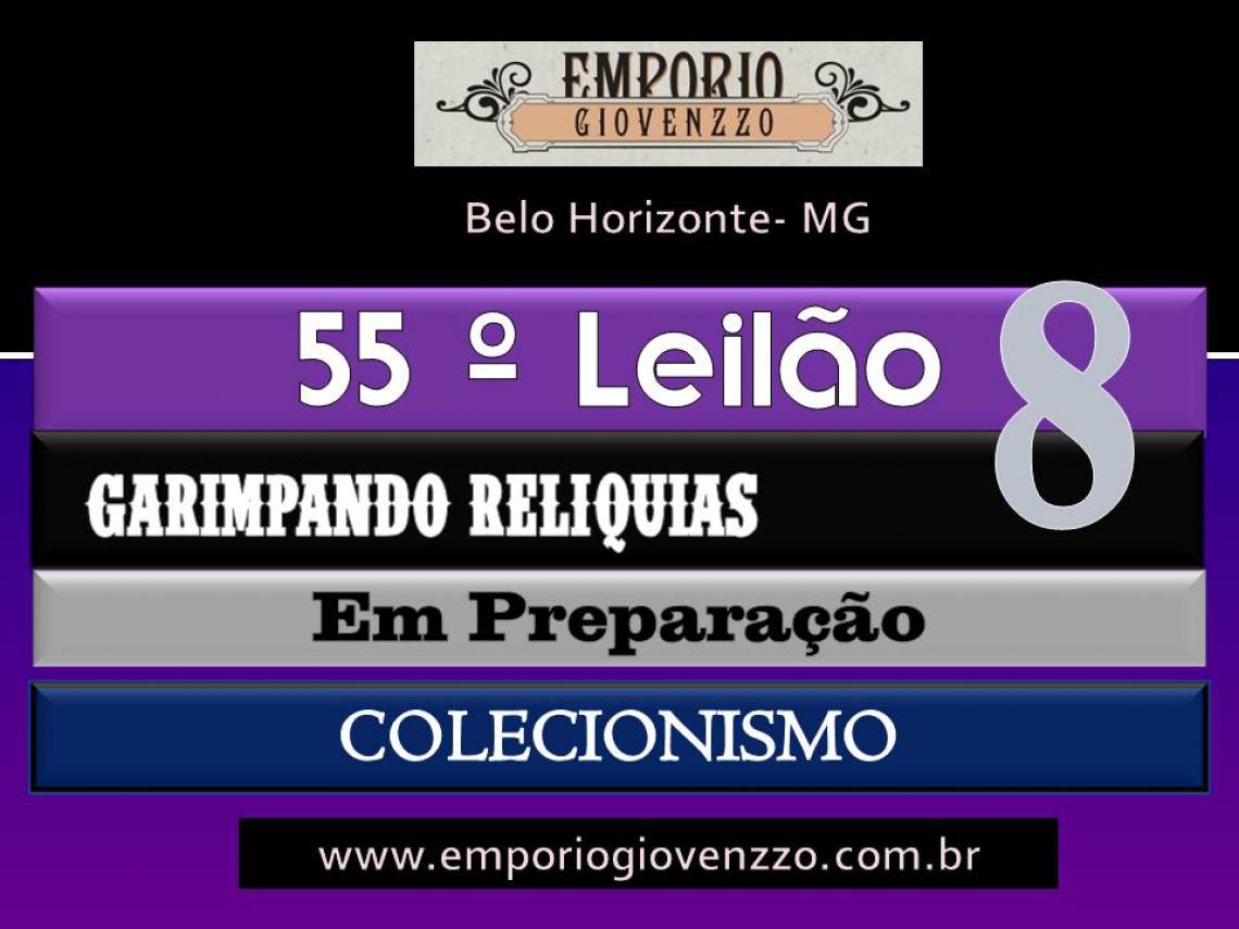 53º LEILÃO DE TUDO UM POUCO - MG - COLECIONISMO