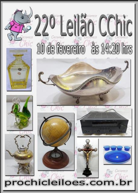 22 ª Leilão CCHIC