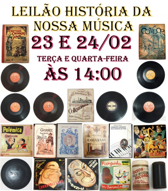 LEILÃO HISTÓRIA DA NOSSA MÚSICA