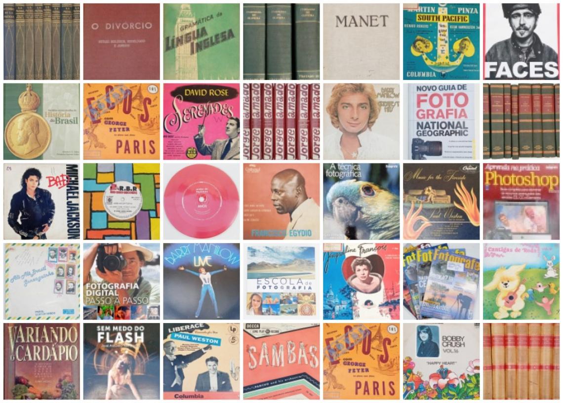LEILÃO DE LIVROS DIVERSOS, DE FOTOGRAFIA, VINIS, DVDs, CDs E COLEÇÕES DE LIVROS!!!