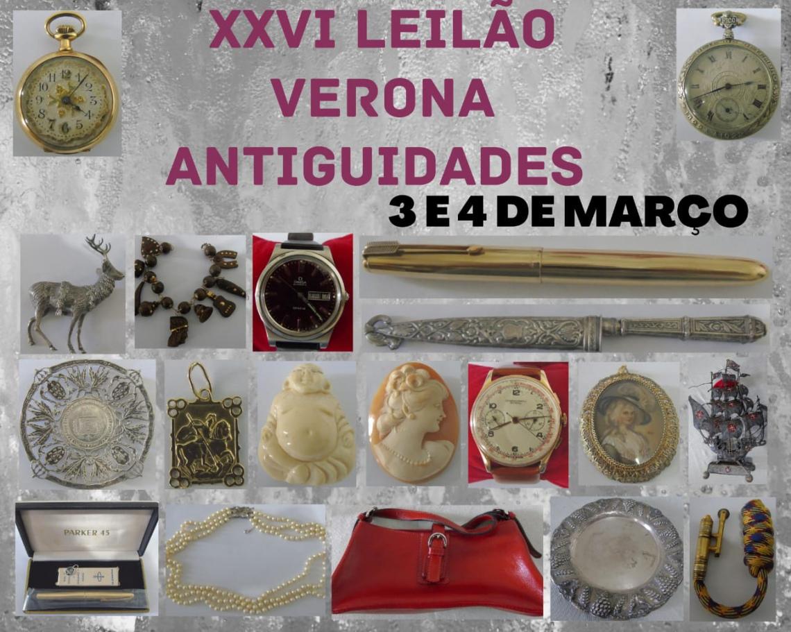 XXVI LEILAO VERONA ANTIGUIDADES E COLECIONISMO