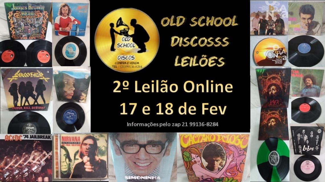 SEGUNDO LEILÃO DA OLD SCHOOL DISCOSSS