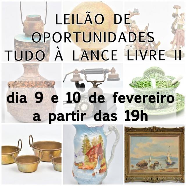 LEILÃO DE OPORTUNIDADES - TUDO A LANCE LIVRE II