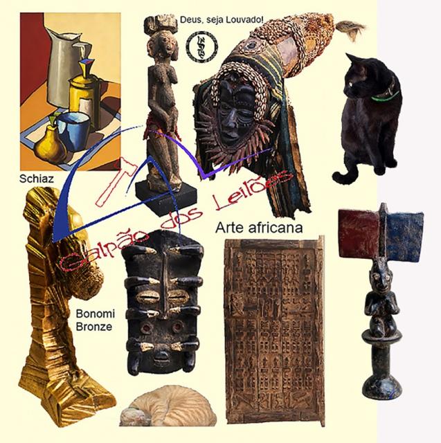 LEILÃO DE ARTE, DECORAÇÃO e COLECIONISMO (destaque p/ Tribal Africana), 27/2, 1 e 2/3/2021.