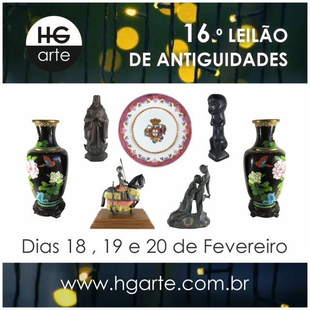 HG ARTE - 16.º LEILÃO DE ARTE E ANTIGUIDADES