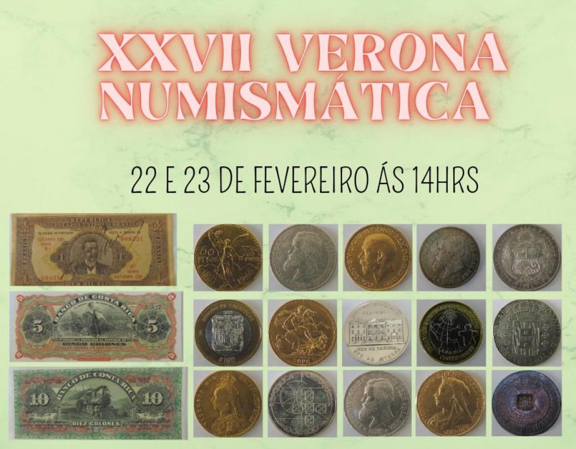 XXVII LEILAO VERONA DE NUMISMATICA