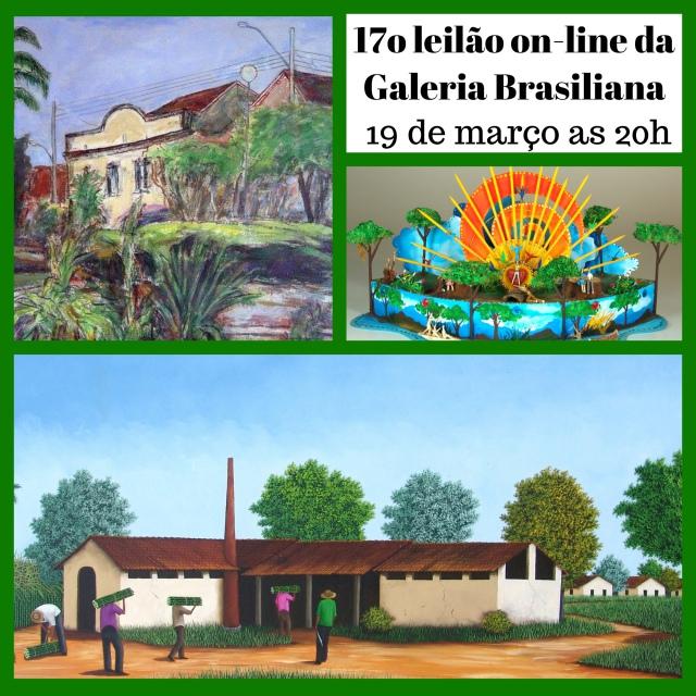 17º Leilão de Arte Espontânea e Oportunidades - Galeria Brasiliana