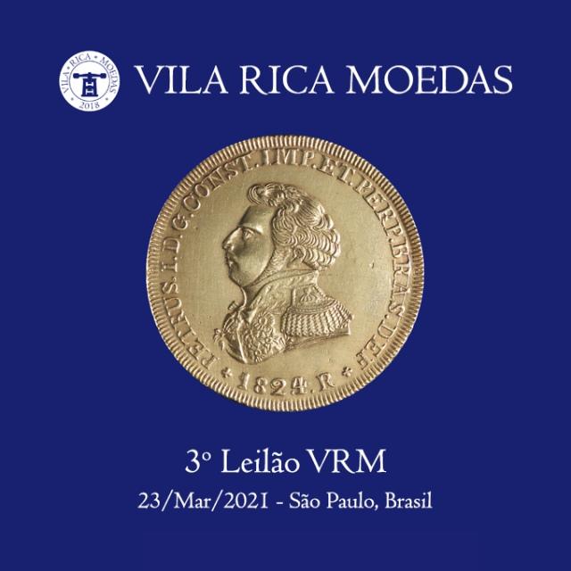 3º Leilão Vila Rica Moedas