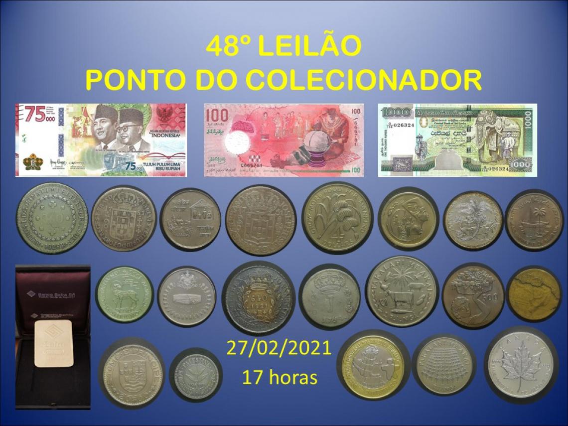48º LEILÃO PONTO DO COLECIONADOR