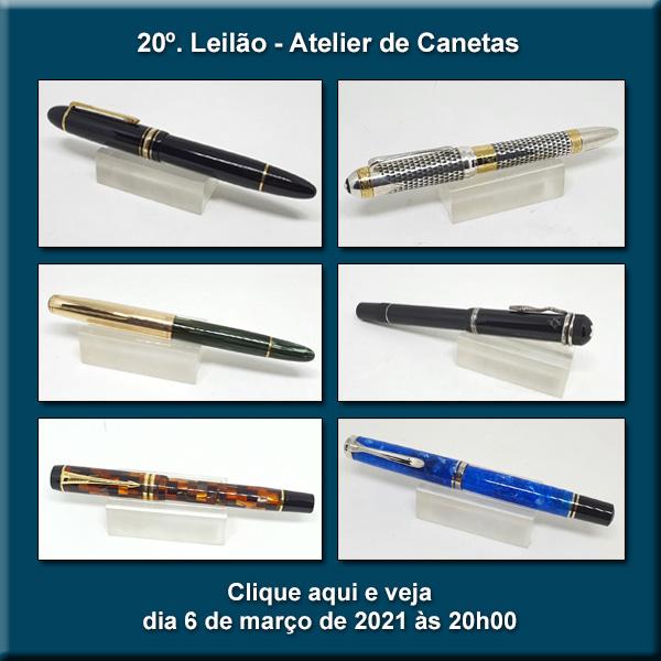 20º Leilão Atelier de Canetas - 6/03/2021 - 20h00
