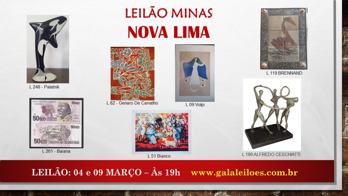 LEILÃO MINAS - NOVA LIMA