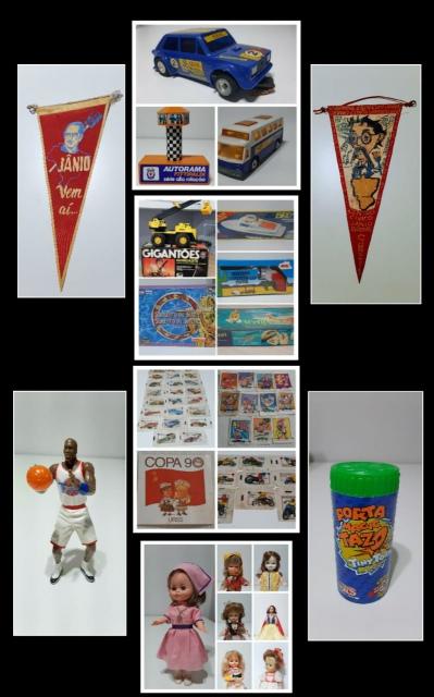 Leilão do Colecionador(Brinquedos antigos/Itens promocionais e Colecionáveis/Figurinhas)