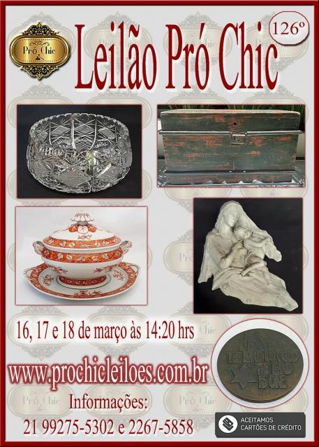 126 Leilao  Pro Chic
