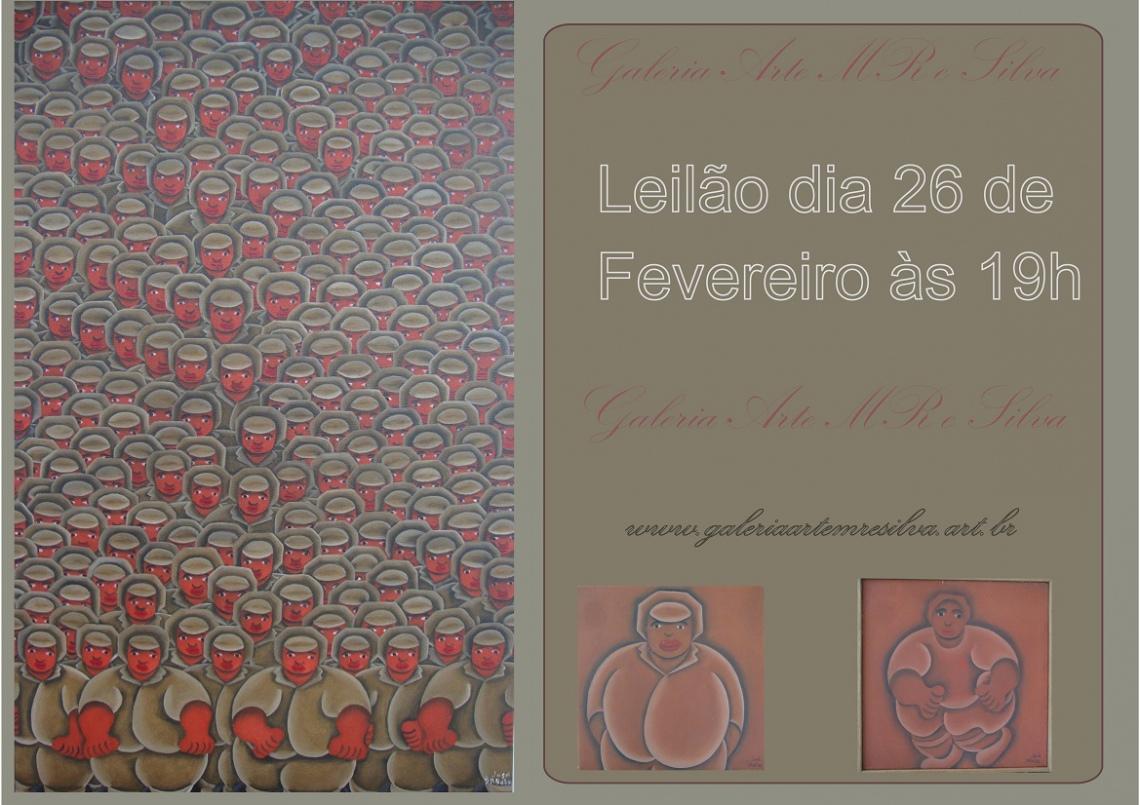 LEILÃO 19090 GALERIA ARTE MR E SILVA