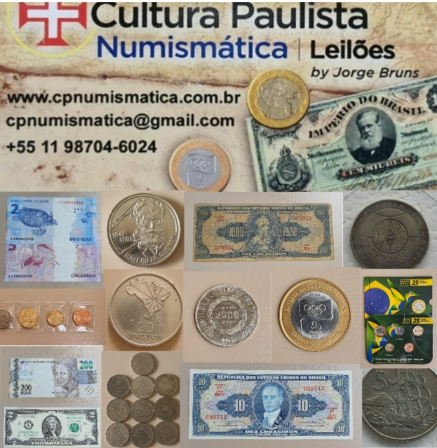 22º LEILÃO CULTURA PAULISTA NUMISMÁTICA