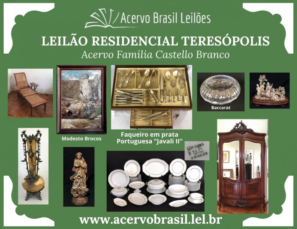 LEILÃO RESIDENCIAL TERESÓPOLIS - ACERVO BRASIL