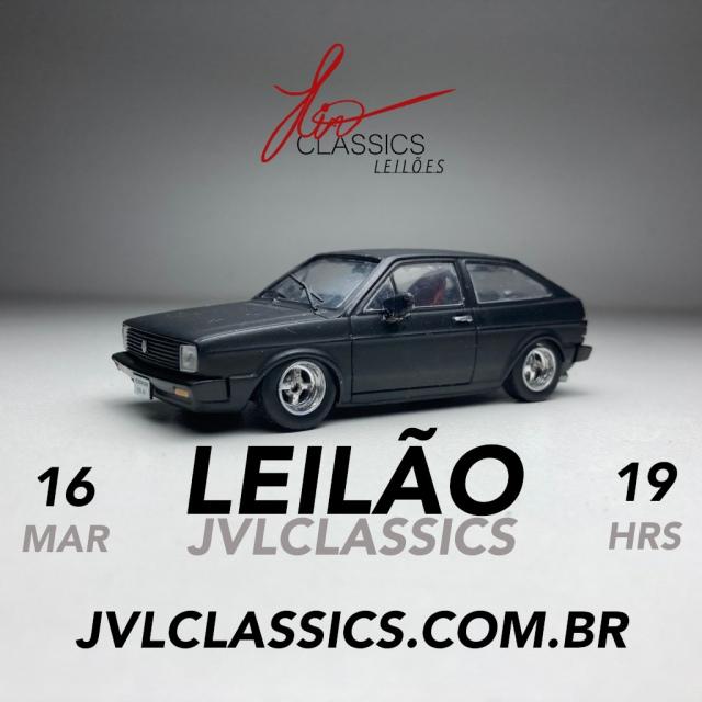 7º Leilão de miniaturas de carros colecionáveis JVL Classics