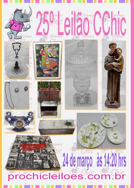 25º LEILÃO CCHIC