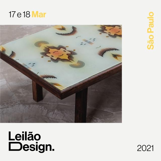 Leilão Design - Março 2021