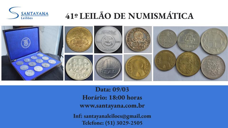 41º LEILÃO DE NUMISMÁTICA