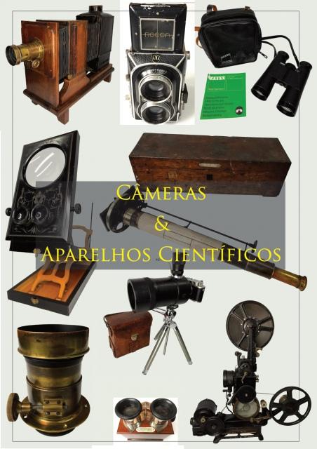 Leilão de Câmeras e Aparelhos Científicos