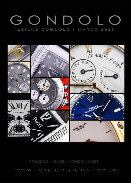 Leilão Gondolo - Relógios - Canetas - Março 2021