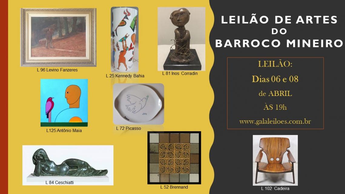 LEILÃO DE ARTES DO BARROCO MINEIRO