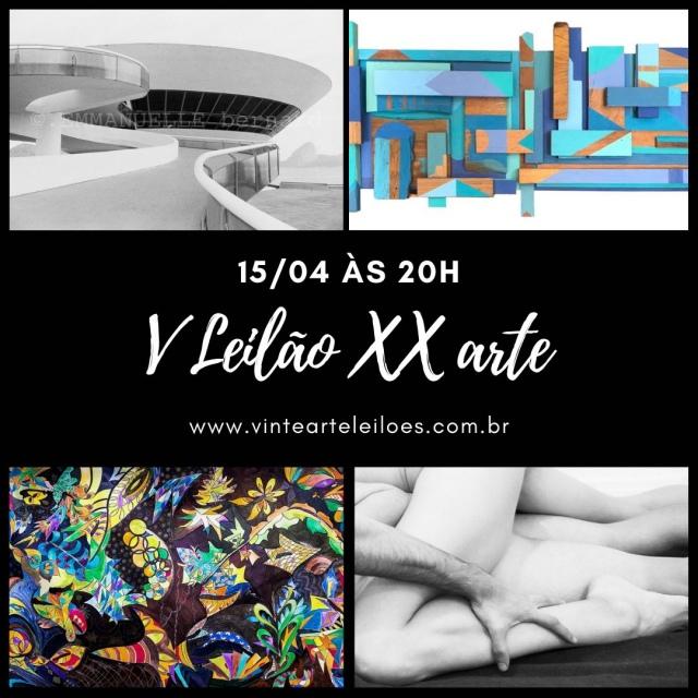 V Leilão XX arte - mulheres na arte