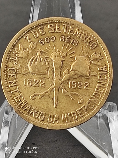 VI LEILÃO PHOENIX - UM PASSEIO PELA NUMISTÁTICA: DE 1849 A 2020