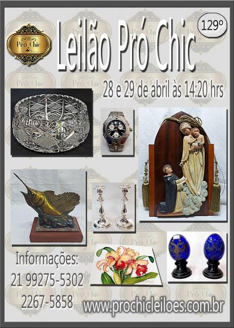 129 º LEILÃO PRO CHIC