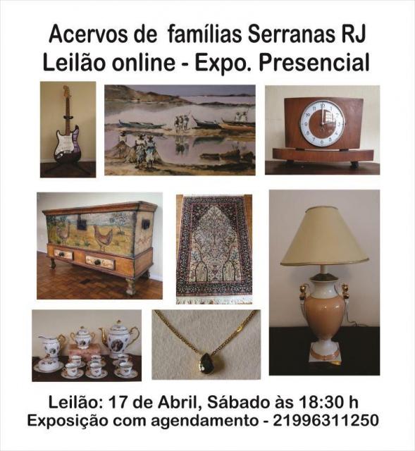 Acervos de Famílias Serranas RJ
