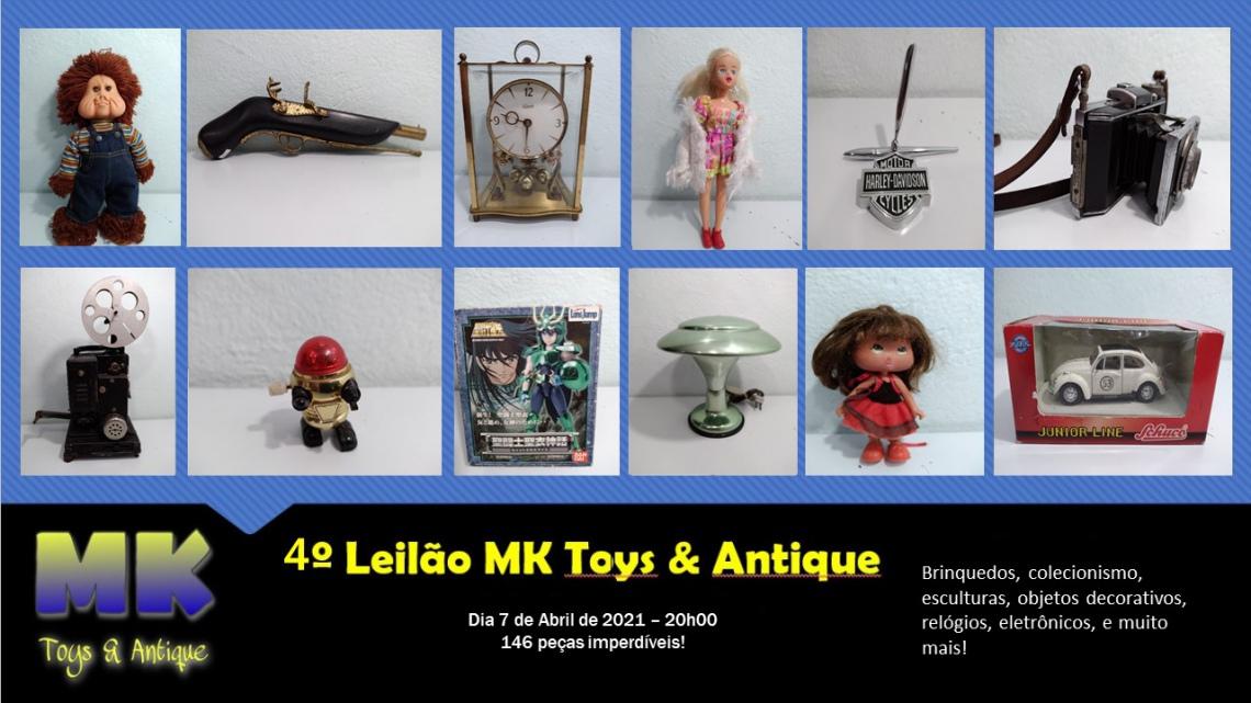 4º Leilão MK Toys & Antique