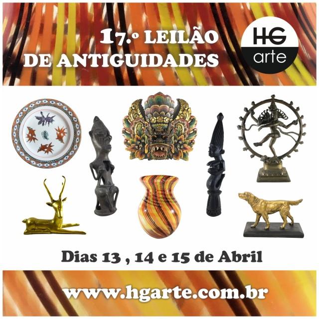 HG ARTE - 17.º LEILÃO DE ARTE E ANTIGUIDADES