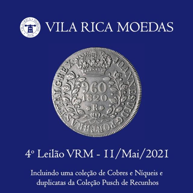 4º Leilão Vila Rica Moedas