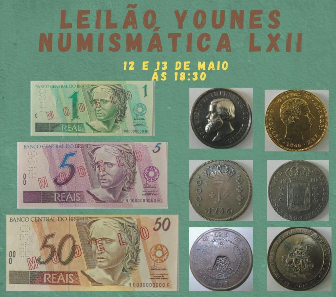 XLII LEILÃO YOUNES NUMISMÁTICA