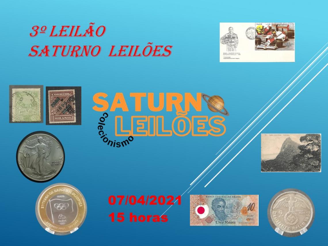 3º LEILÃO SATURNO LEILÕES