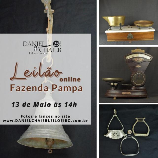 LEILÃO DA FAZENDA PAMPA