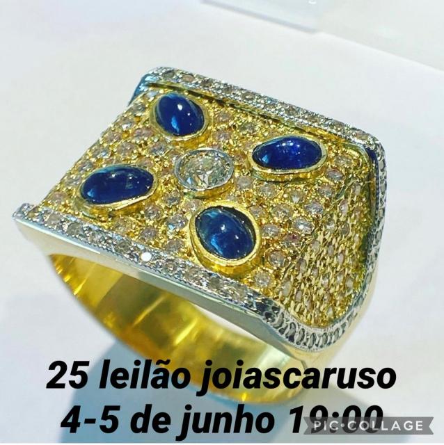25º LEILÃO DE JOIAS RELÓGIOS E OBJETOS DE ARTE E DECORAÇÃO - JOIAS CARUSO