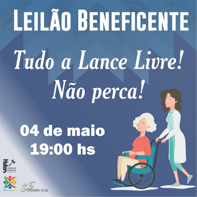 LEILÃO BENEFICENTE EM PROL DE PATÍCIA  BERTOLOTTI