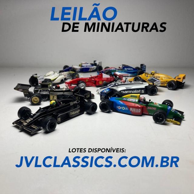 9º Leilão de Miniaturas de Carros Colecionáveis JVL Classics