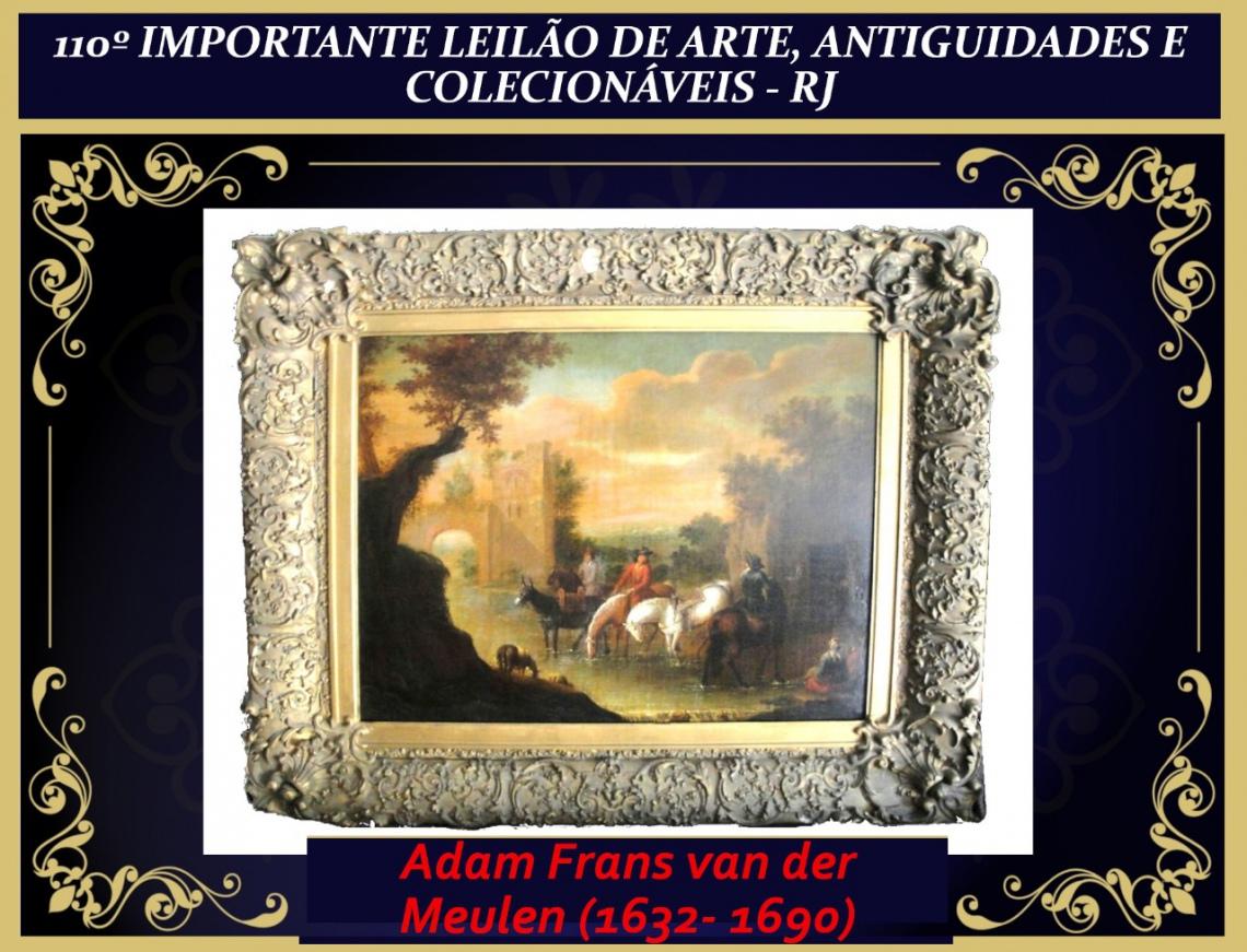 110º IMPORTANTE LEILÃO DE ARTE, ANTIGUIDADES E COLECIONÁVEIS - RJ