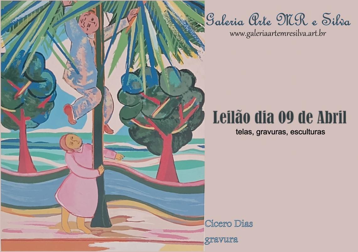 LEILÃO 19801 - GALERIA ARTE MR E SILVA