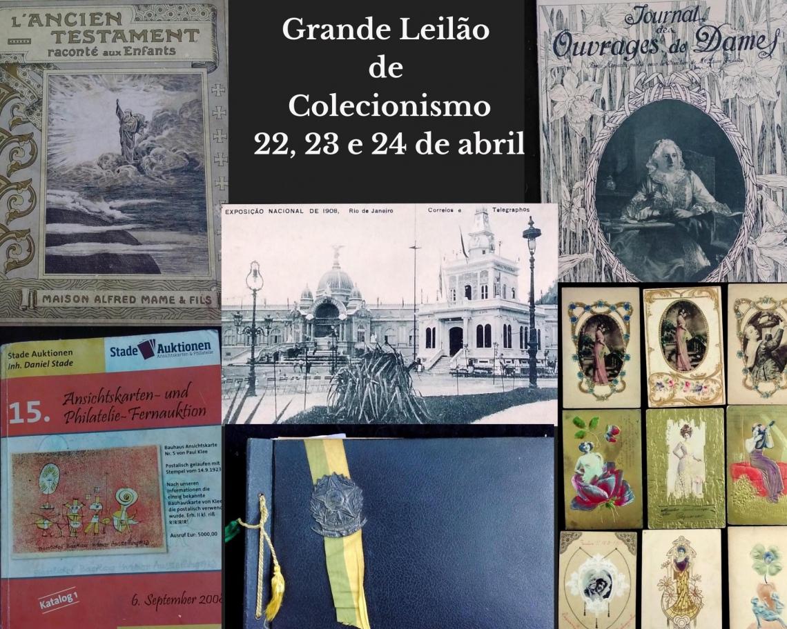 GRANDE LEILÃO DE COLECIONISMO