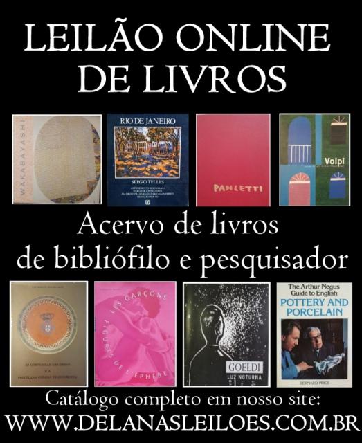 Joias, numismática, colecionismo e livros de importante bibliófilo e pesquisador